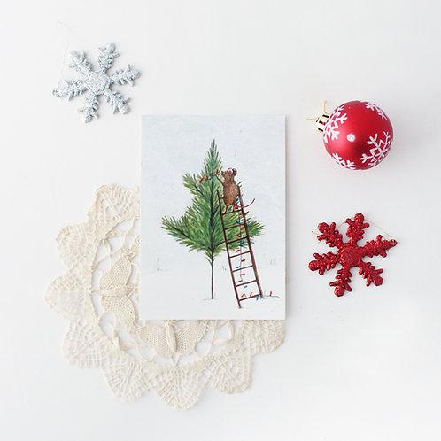 Noelle - Christmas Art Print