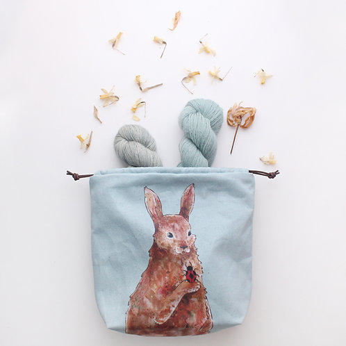 Penelope | Project Bag (Rabbit with her Ladybird)