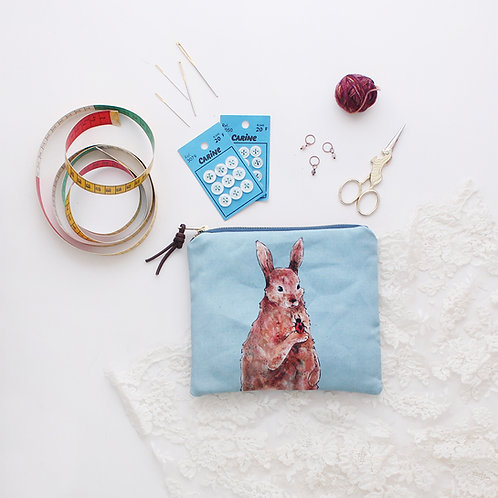 Penelope | Medium Zipper Pouch