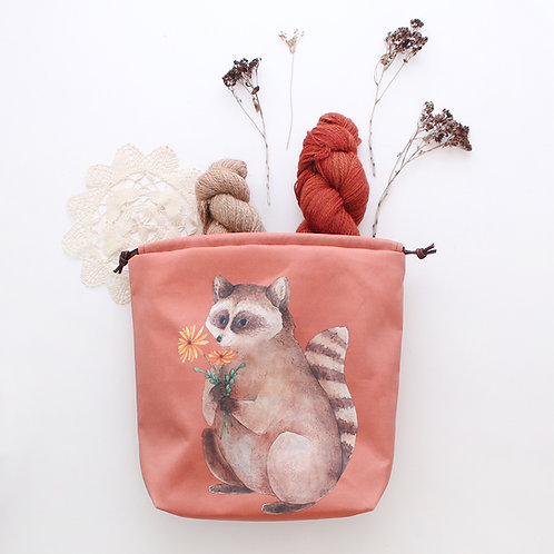 Milo | Project Bag (Raccoon)