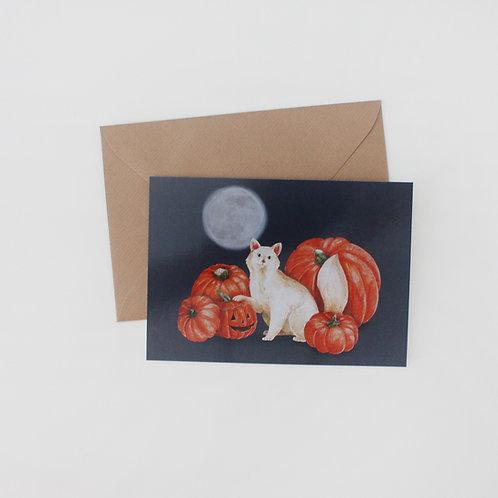 Minerva - Halloween Art Print