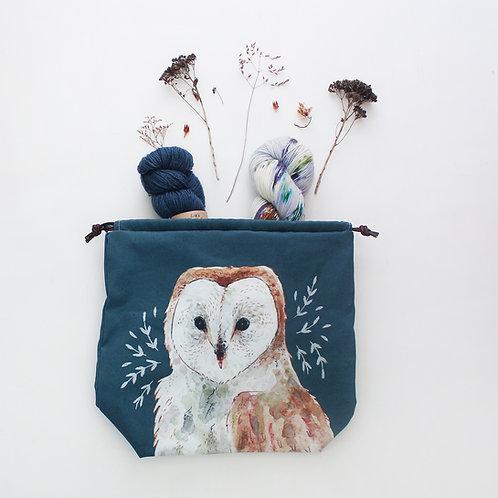 Oliver | Project Bag (Owl)