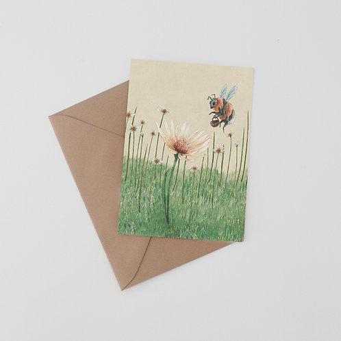 Bonnie - Bumblebee Art Print