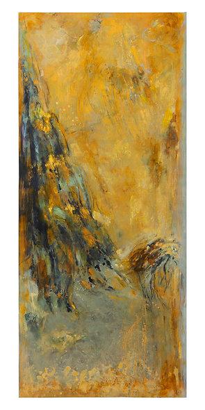 "Jocelyne BARBAS n° 21 ""Montagnes celestes"""