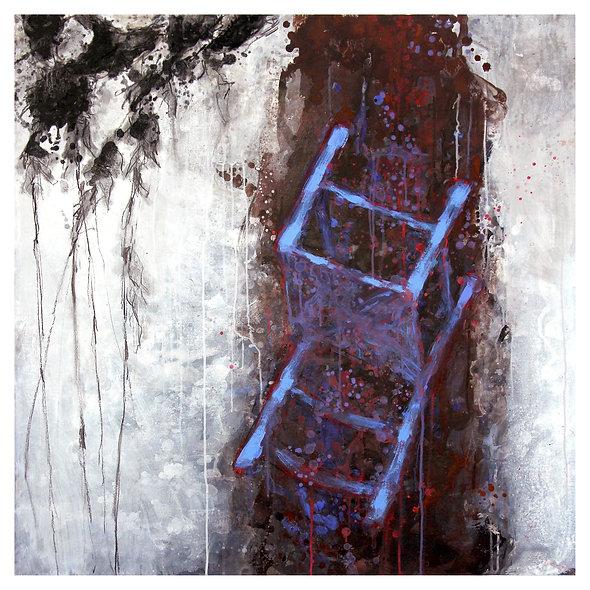 "Georges JOUSSAUME n° 5 ""Van Gogh chaise bleue"""