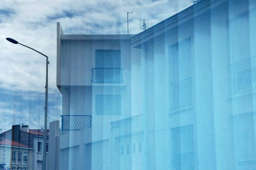 """Marie MONTEIRO n°34 """"Maison bleue"""""""