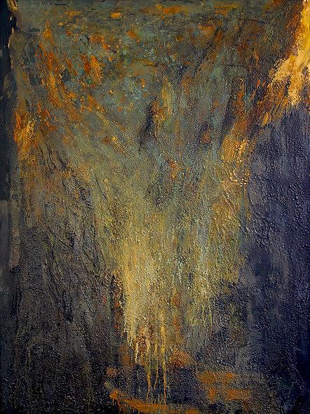 "Jocelyne BARBAS n° 14 bis "" Montagnes Célestes soir"""