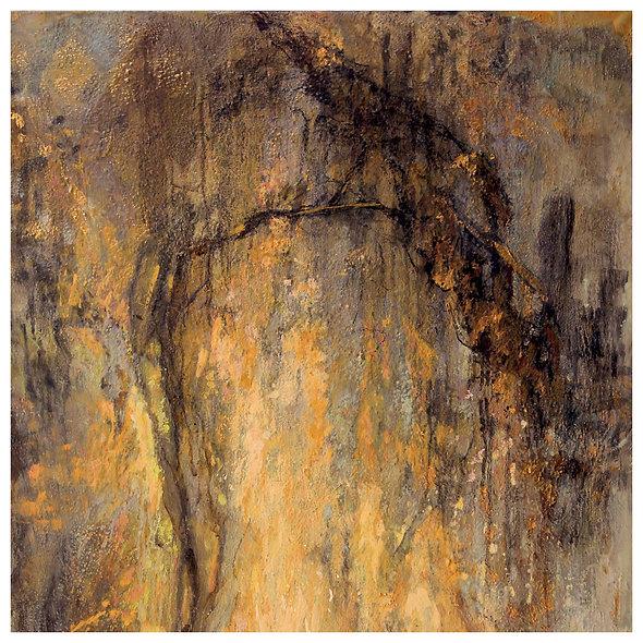 "Jocelyne BARBAS n° 10 "" arbre ocre"""