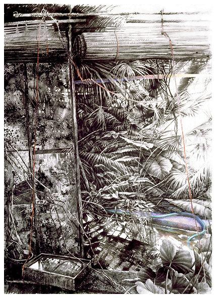"""Georges JOUSSAUME n° 2 bis """" Les grandes végétations 2"""""""