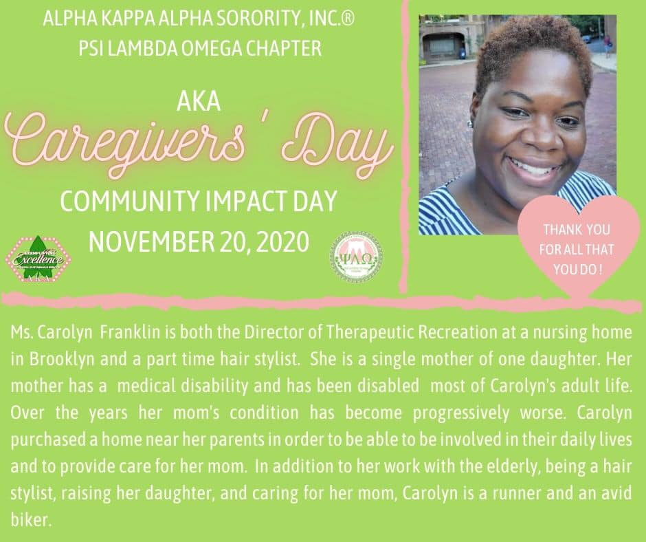 Caregivers' Day