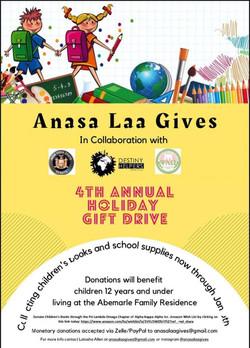 Anasa Laa Gives