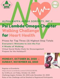 Walking Challenge 2020