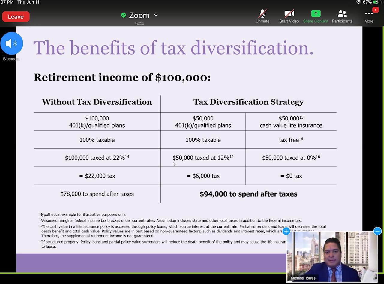 2020 Virtual Tax Diversification Seminar