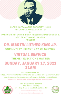 MLK Day of Service 2021