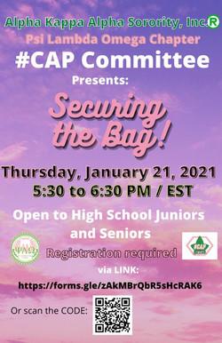 #CAP - Securing the Bag