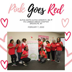 Pink Goes RED 2020