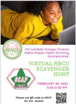 Virtual HBCU Scavenger Hunt