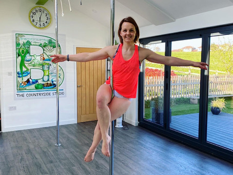 Try A Pole Fitness Course!