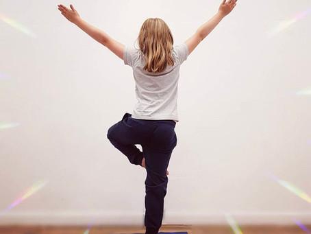 New Yoga For Children Aged 8-10yrs