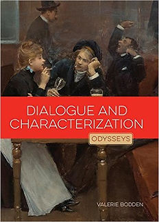 Odysseys in Prose writing books, Dialogue and Characterizaton, Imagery and Descriptin, Narration and Point of View, Wording and Tone