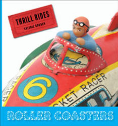 Thrill Rides books, Carousels, Ferris Wheels, Roller Coasters, Water Rides