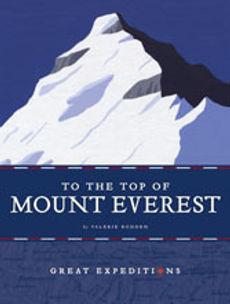 Great Expeditions books, American West, Africa, Moon, Ocean Deep, South Pole, Mount Everest