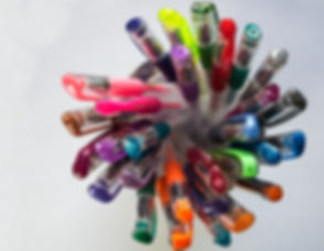 Colorful pen for editing