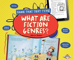 Name That Text Type books, Fiction Genres, Nonfiction Genrs
