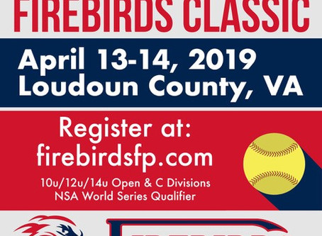Third Annual Firebirds Classic: April 13-14, 2019