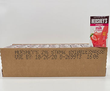 Hershey's strawberry 2% reduced fat milk 8oz