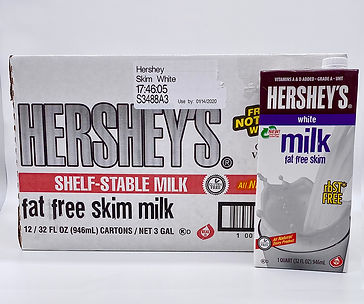 Hershey's fat free white milk 32oz