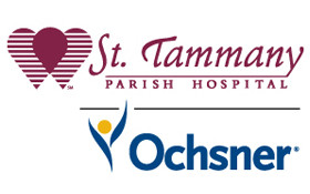 saint tammany parish hospital and ochsner logo