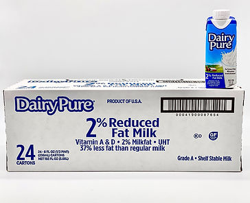 dairy pure 2% reduced fat milk
