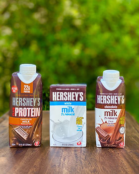 hershey's shelf stable milk products