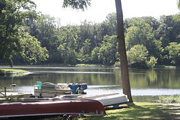 Swinging Bridge Lake (12 acre fishing pond)