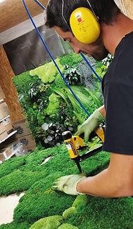 Troisième étape du projet Végétal Tendance : la fabrication