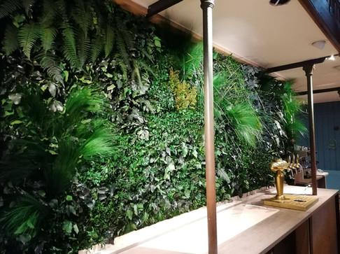 Mur végétal naturel stabilisé Premium