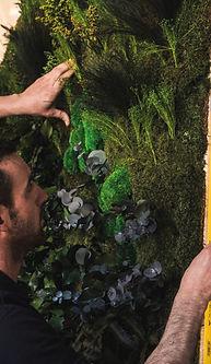 Quatrième étape du projet Végétal Tendance : l'installation