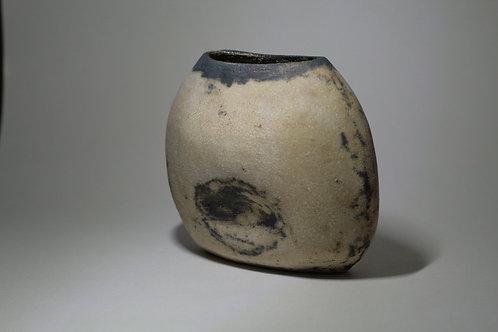 Stoneware Copper Oxide Vase