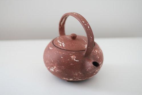 Stoneware Red Jasper Teapot Set