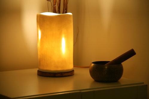 Porcelain Large White Table Lamp