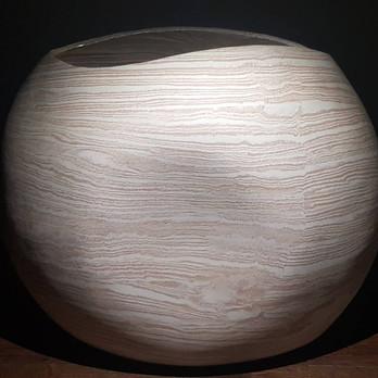 Stoneware Strata Large Wase