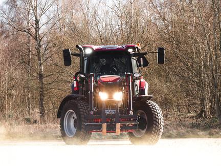Vår nya traktor - Case Maxxum 120