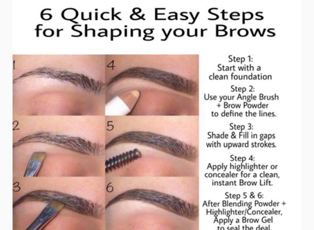 6 Easy and Quick Steps for Brow Shaping