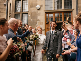 Hayley & Liam's Urban Wedding | Sheffield