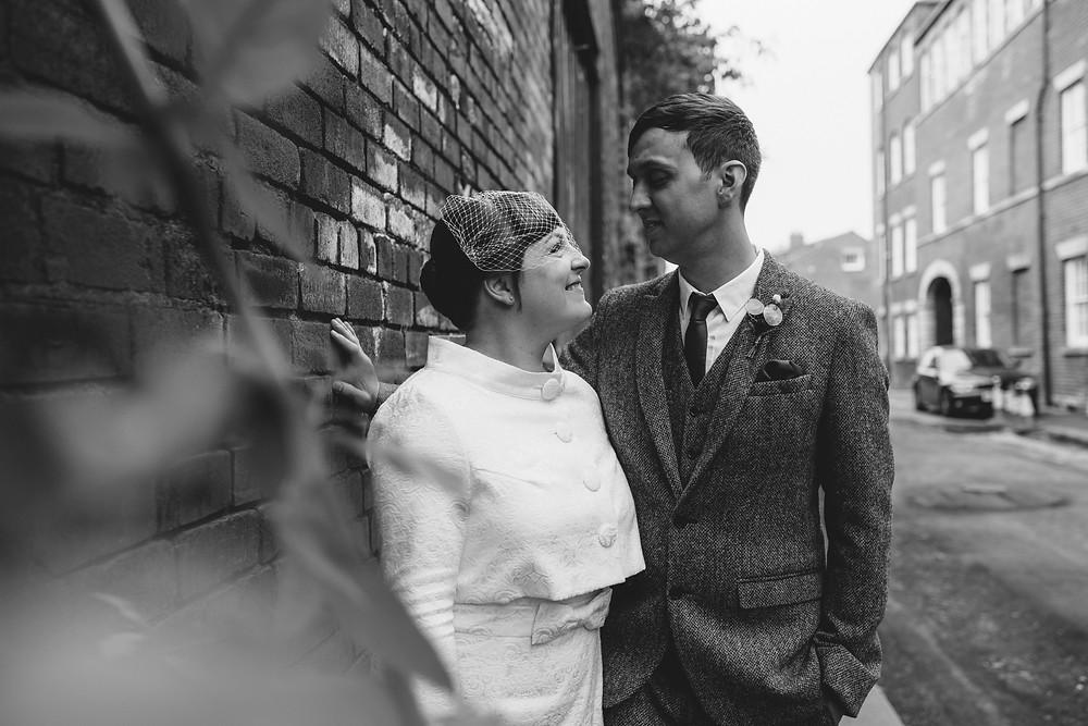 Back street urban weddings