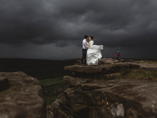 Ann & Dave's Adventurous Sheffield Wedding