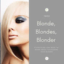 ___Exclusive____New Course Blonde, Blond