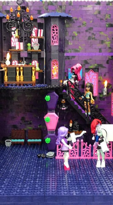 Monster High Toymation Set