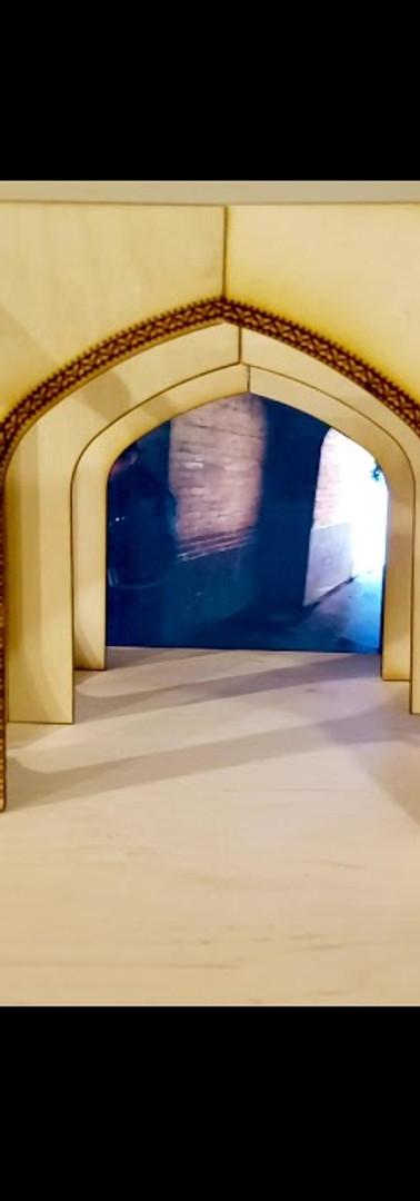 Bridge Obscura: Connecting Cultures through Sculpture Installation
